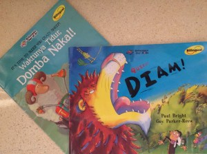 Indonesian bilingual picture books