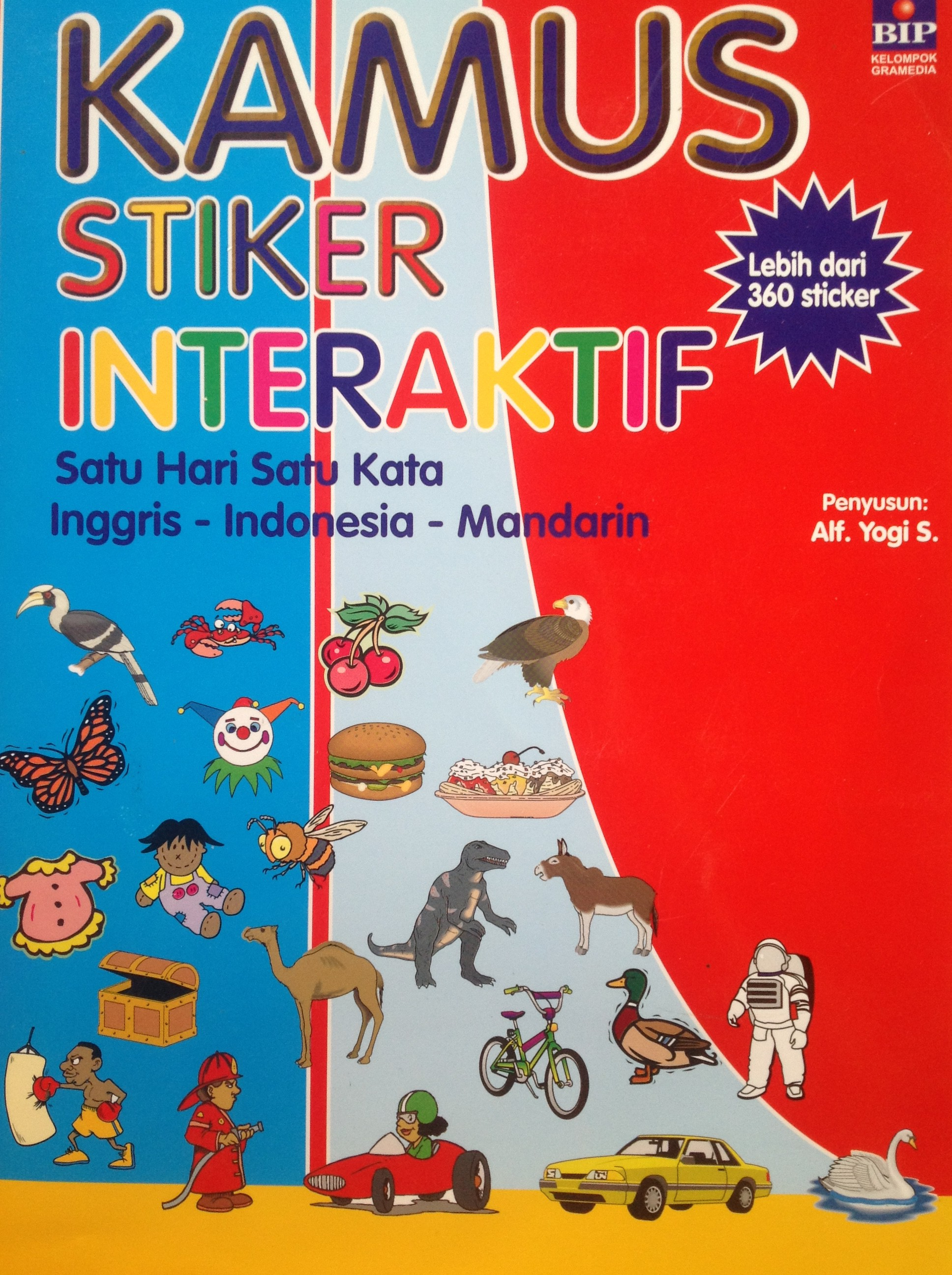 Interactive Indonesian Sticker Book Dictionary